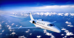 Business Jet Over a Lake.jpg