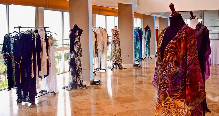 Rebecca O exclusive collections showroom