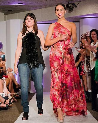 Rebecca O fashion show
