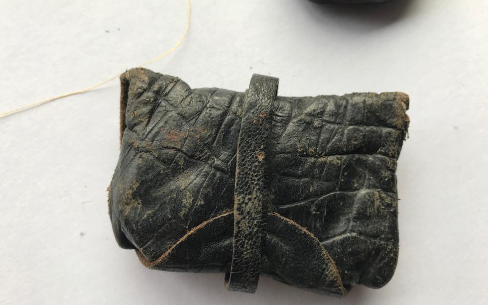 A Leather Wax Dispenser