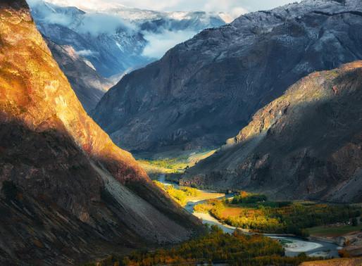 Золотые горы Алтая, Россия