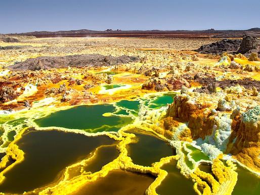 Впадина Данакиль, Эфиопия