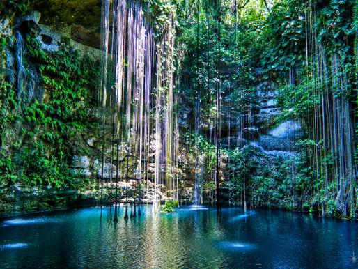 Подземные реки и озера Юкатана