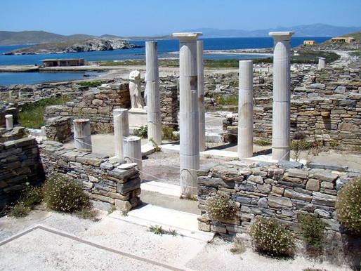 Остров Дилос, Греция