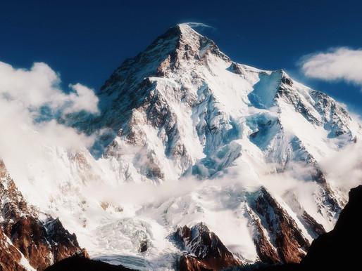 Пик К2 (Чогори) и хребет Каракору, Пакистан