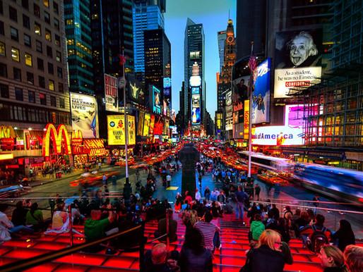Новый год на Таймс-сквер
