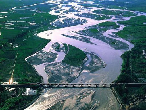 Три параллельные реки в провинции Юньнань, Китай