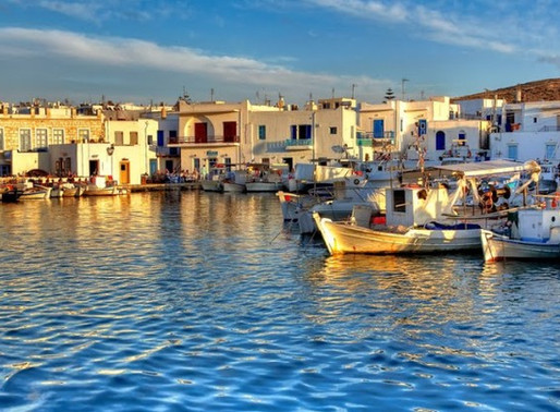 Острова Парос и Антипарос, Греция