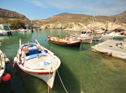 Острова Милос и Кимолос, Греция