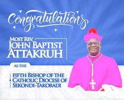 congratulation bishop