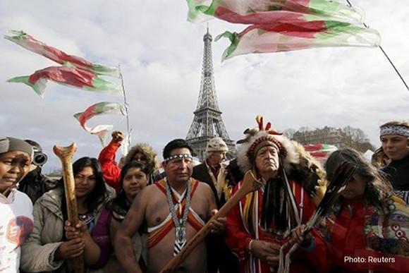 Foto lideres de primeras naciones
