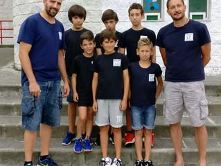 Nuestros alevines parten rumbo Valladolid al campeonato de España.