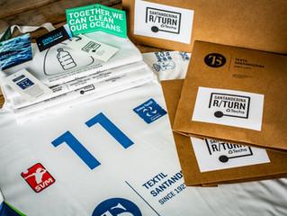 Vóley Textil Santanderina se viste con R/TURN ®  y Seaqual para poner fin a la contaminación plástic