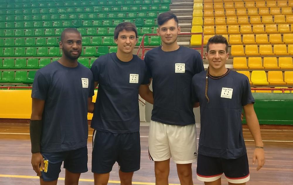Sibá, Sergio, Alfonso y José, fichajes de la temporada 2017-18