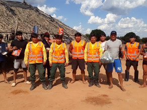 AFV helps boost anti-fire brigades in Xingu amid forest fires surge