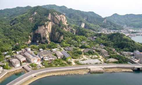 北木島会場全景
