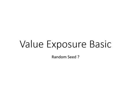 {Essential} Random Seed Exposure How to