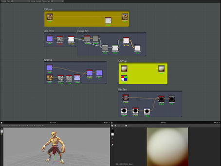 Stylized Texturing Substance Designer tutorial since by 2013 in years.