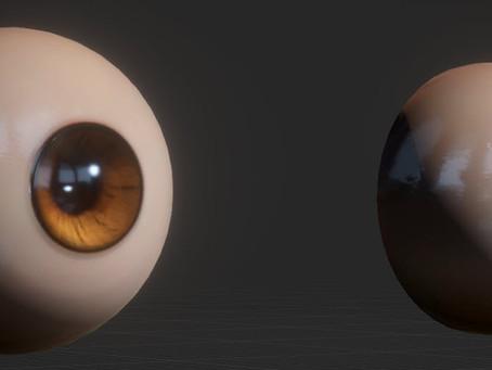 Simple parallax eyeball shader improved.(Mobile shader)