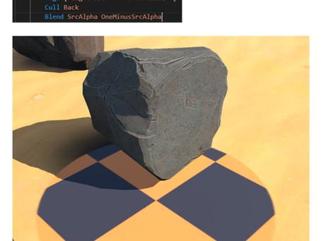 解决 Alpha Blending mode 不显示影子的问题