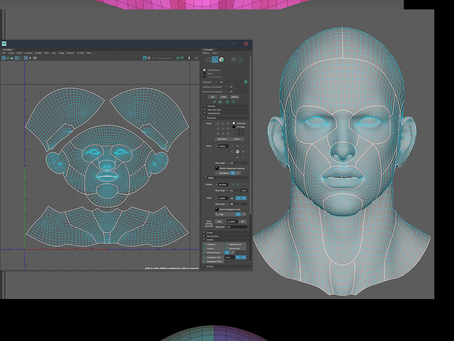 [WIP]Face Skin detail auto material filter.