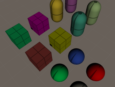Color variation tech with preventing to increasing draw call how to by old of unity version.