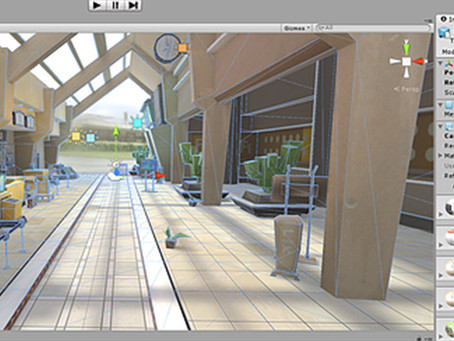 UNITY3D 5.0 IBL lighting for light mapping