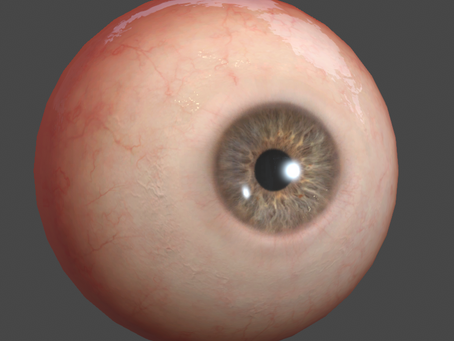 More Realistic eyeball approach for Mobile visualization.