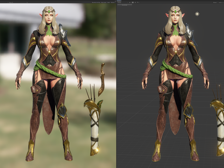 Virtual Specular lighting approaching pre-view.