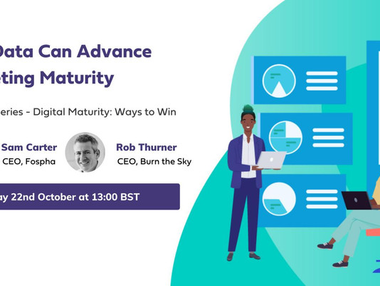 Event | How can data advance marketing maturity?