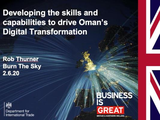 Event |  Department of International Trade, Oman