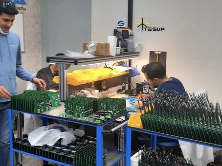 TESUP is improving its manufacturing!