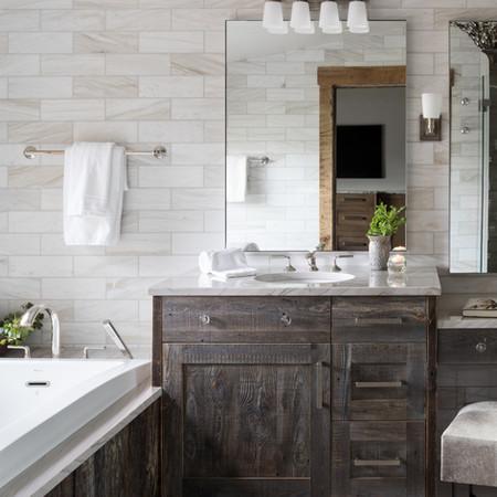 Master Bathroom - Jackson Hole, WY