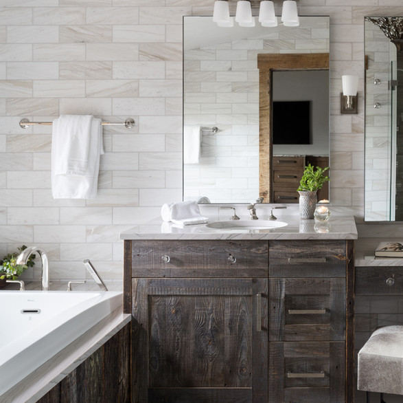 Master Bathroom - Jackson Hole, WY