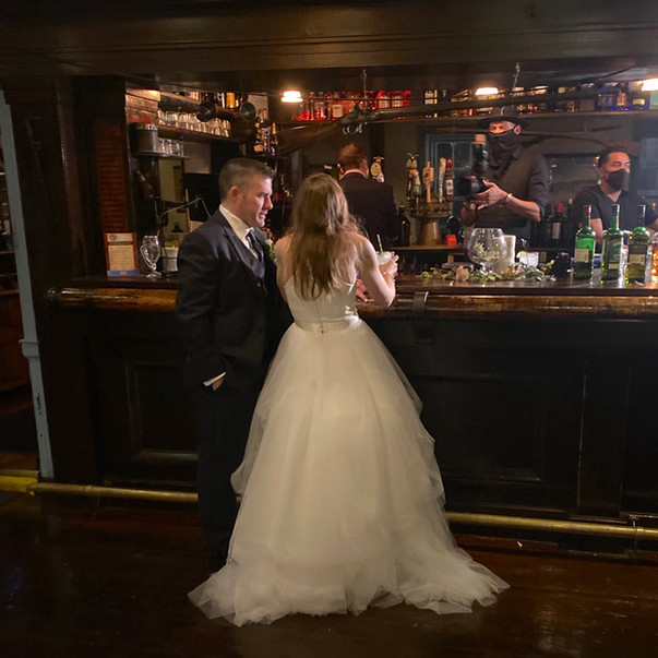 Wedding - Bride & Groom at Bar.jpg