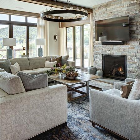 Living Room -  Silo Ridge Field Club Residences, Amenia, NY