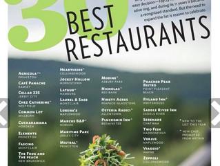 NJ Monthly - 30 Best Restaurants