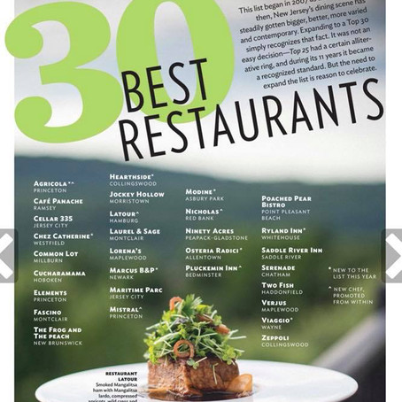 NJ Monthly - 30 Best Restaurants - Café Panache
