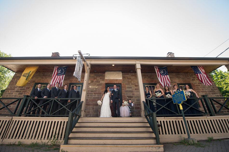 Wedding - Bridal Party Porch  - 76 House