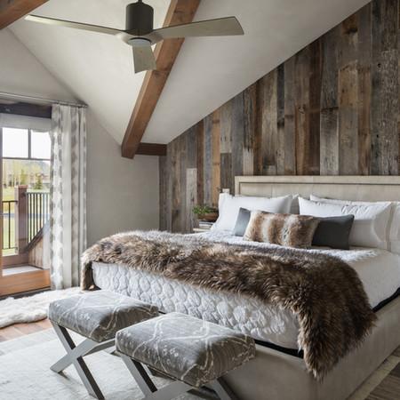 Master Bedroom - Jackson Hole, WY