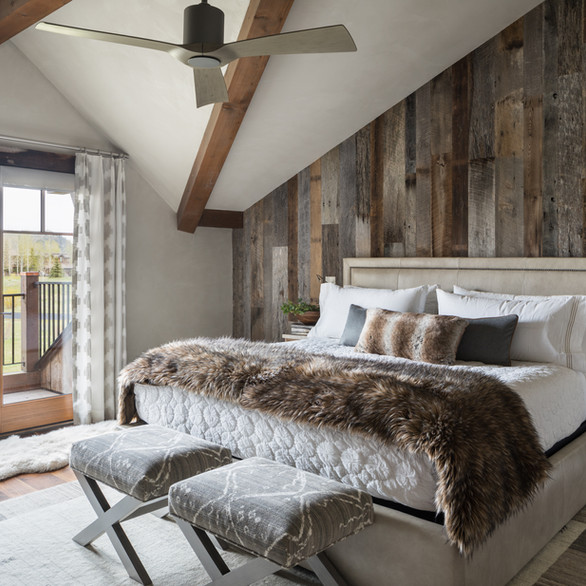 Master Bedroom - Jackson Hole, WY