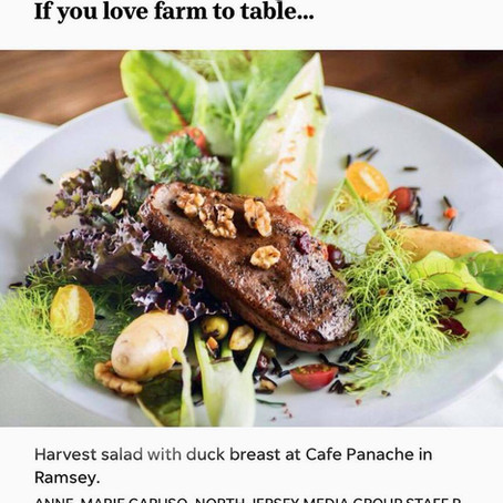 "The Record - Ultimate Dining Guide - Café Panache ""Best Farm to Table"""