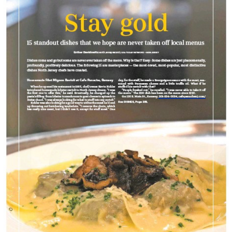 The Record - Better Living COVER - Standout Dishes on Local Menus