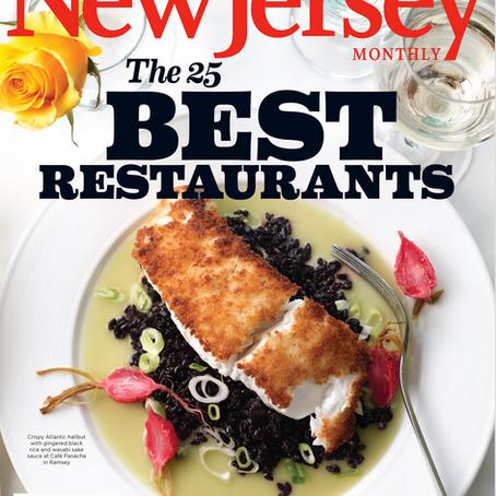 COVER - NJ Monthly - 25 Best Restaurants - Café Panache