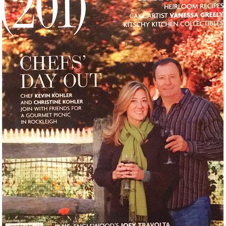 COVER 201 Magazine -  Chefs' Day Out