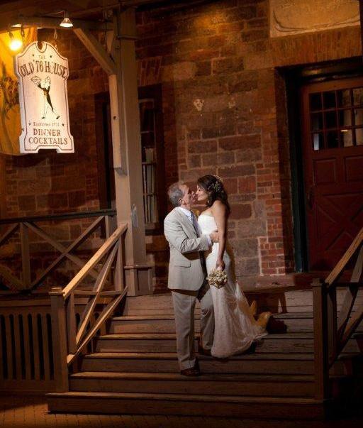 Wedding2 - Bride & Groom Porch  - 76 Hou