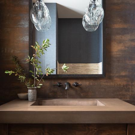 Guest Bathroom Detail - Jackson Hole, WY