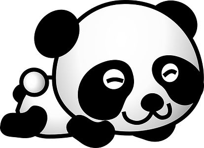 Panda Vector - Laying Down.jpg