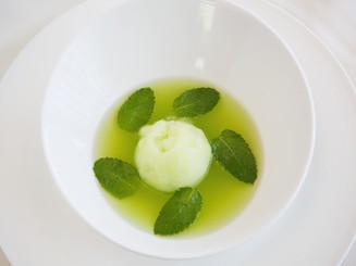 Kaffir Lime & Greek Yogurt Sorbet