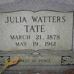 Julia Watters Tate